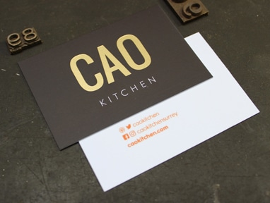 Laminated Business Cards