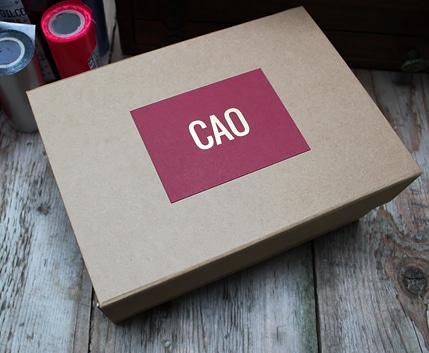 customisation - packaging