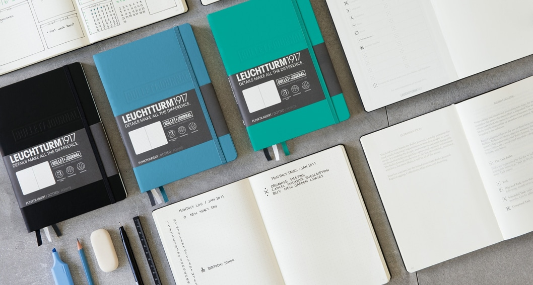 Bullet Journals: Notebooks for the Digital Age