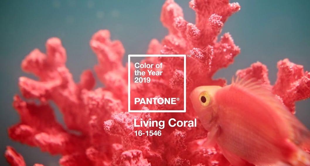 Pantone Coral Red