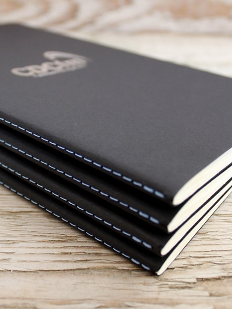 Branded Singer Notebooks