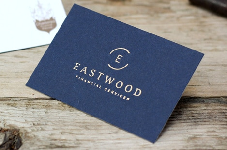 Embossed Business Cards