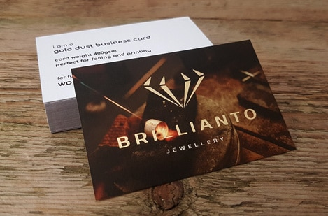 Gold Dust Business Cards