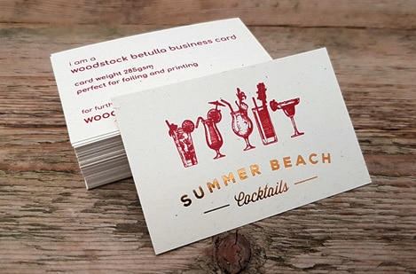 Woodstock Business Cards