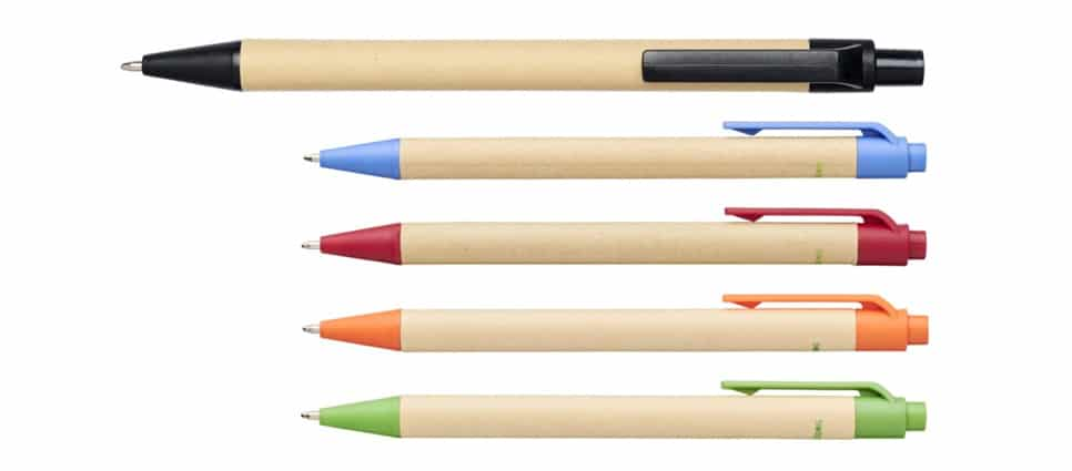 Eco Friendly Paper Carton Branded Pens