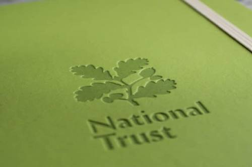 Castelli Appeel Eco Sustainable Notebooks for The National Trust