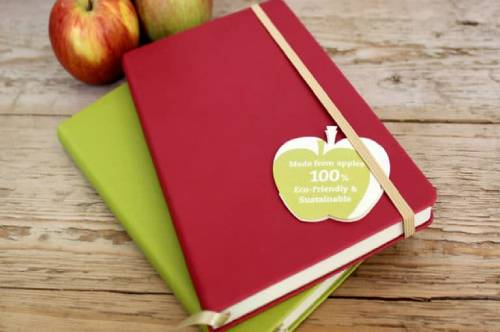 Castelli Appeel Sustainable Notebooks with Apples