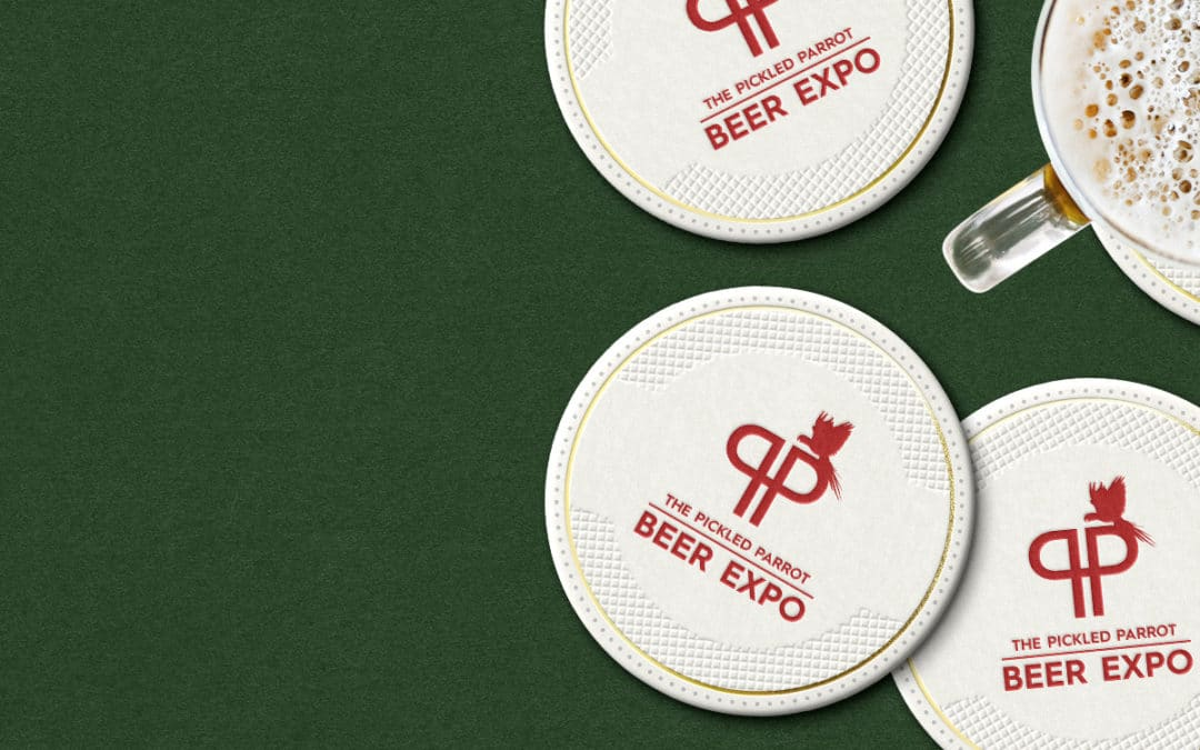Whatever your Tipple, Branded Coasters are Worth Raising Your Glass To!