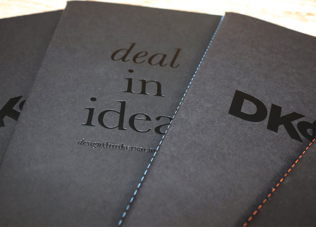 Black Foil Stamped Castelli Singer Notebooks