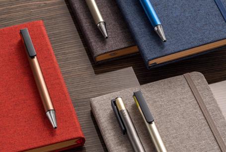 Branded Notebook & Pens